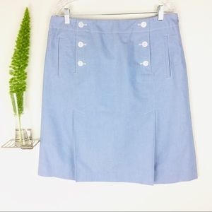 Talbots Gorgeous Pleated Casual Skirt Size (12)